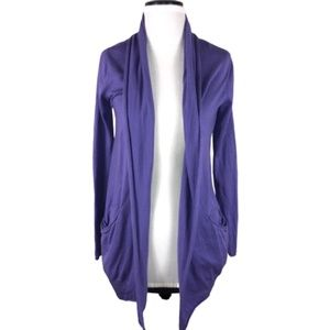 Aritzia Wilfred Flaubert Open Cardigan Purple S